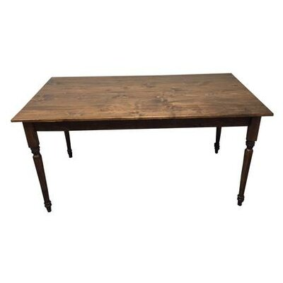 Franklin Dining Table Finish Red Mahogany