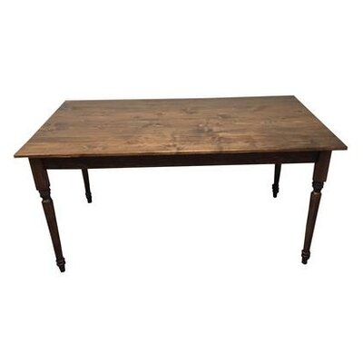 Coventry Rectangular Dining Table Finish: Dark Walnut
