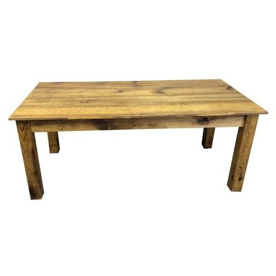 Dining Table Base Finish: Barnwood