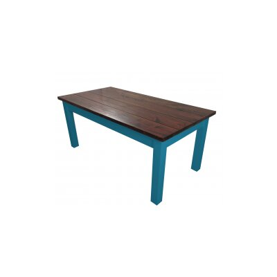 Charleston Dining Table Base Finish: Blue