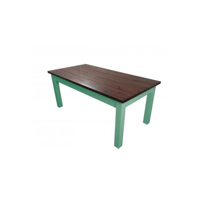 Charleston Dining Table Base Finish: Green