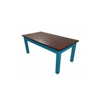 Charleston Dining Table Base Finish Blue