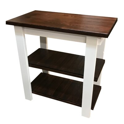 Diejuste Kitchen Cart Size: 36 H x 42 W x 20 D