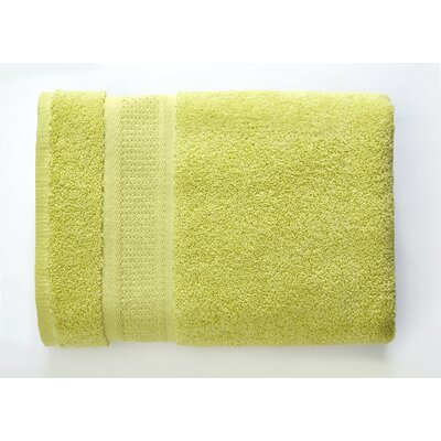 Color Splash Luster 6 Piece Towel Set Color: Celery Green