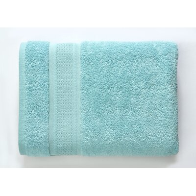 Color Splash Luster 6 Piece Towel Set Color: Canal Blue