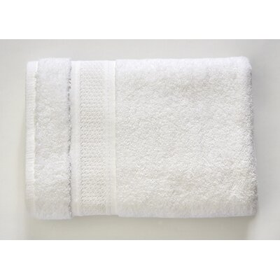 Color Splash Luster 6 Piece Towel Set Color: White