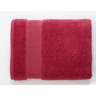 Color Splash Luster 6 Piece Towel Set Color: Cherries Jubilee