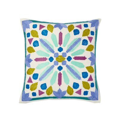 Lola Cotton Throw Pillow