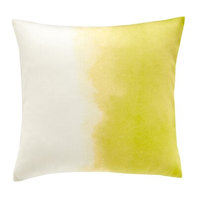 Paint Box Ombre Cotton Throw Pillow