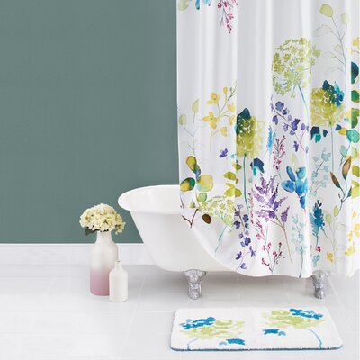 Botanical Garden Cotton Shower Curtain
