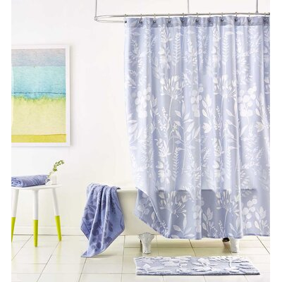 Fleur Cotton Shower Curtain