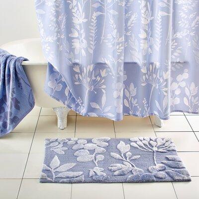 Fleur Cotton Blue Area Rug