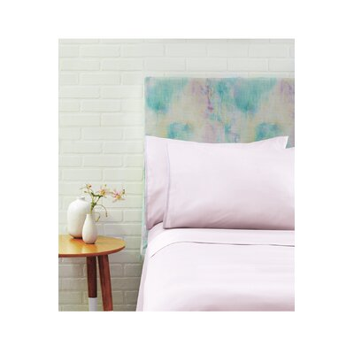 Nessa Pillowcase Pair Size: King, Color: Pink