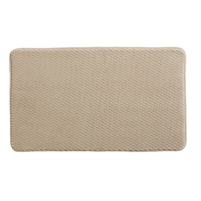 Rondo Bath Rug Color: Khaki