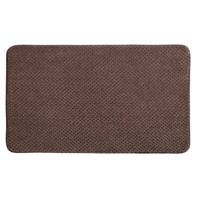 Rondo Bath Rug Color: Sable Brown