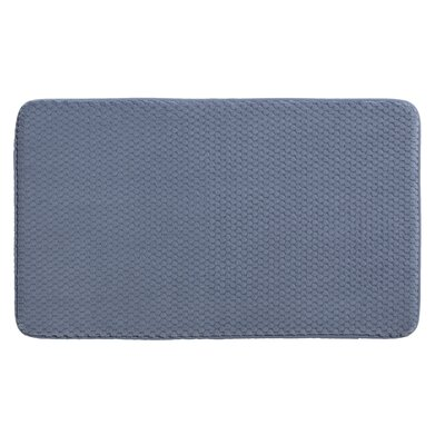 Rondo Bath Rug Color: Marina Blue