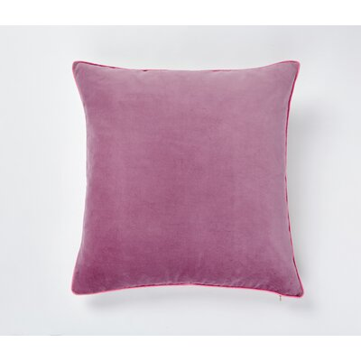 Wisteria Velvet Throw Pillow