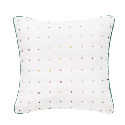 Cross Stitch 100% Cotton Throw Pillow