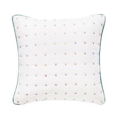 Cross Stitch 100% Cotton Throw Pillow