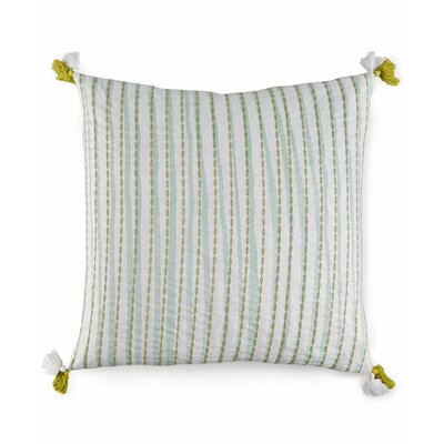 Wisteria Textured 100% Cotton Throw Pillow