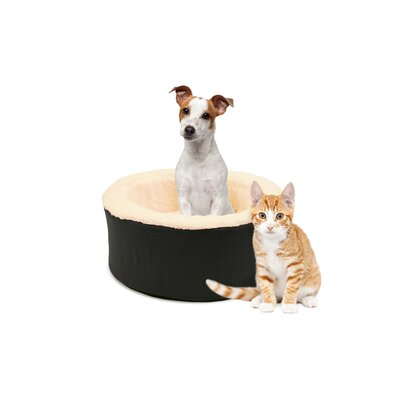 Restology Pet Bolster Color: Black