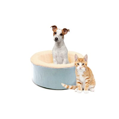 Restology Pet Bolster Color: Mineral Blue