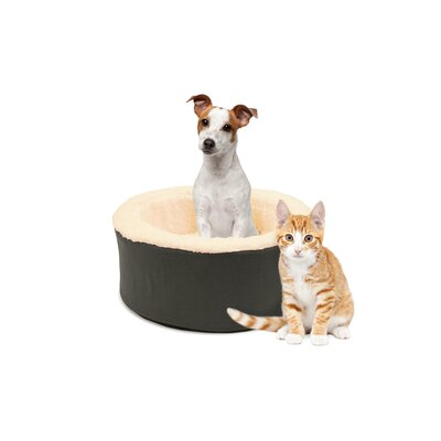 Restology Pet Bolster Color: Gray