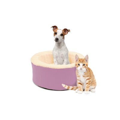 Restology Pet Bolster Color: Rose Pink