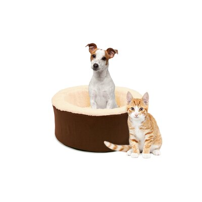 Restology Pet Bolster Color: Mocha Brown