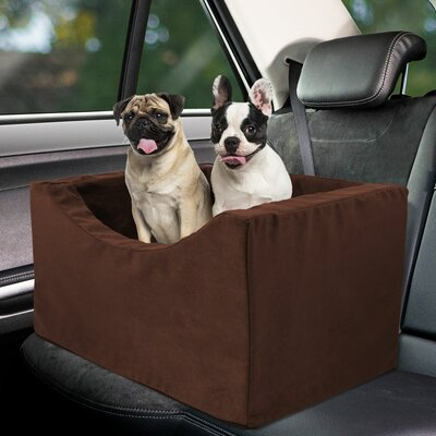 Double Companion Pet Carrier Color: Brown