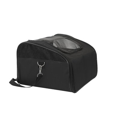Laika Sidekick Travel Soft Sided Pet Carrier Color: Black