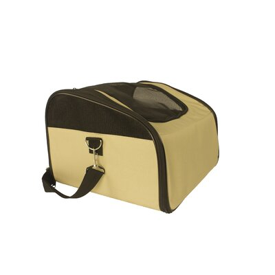 Laika Sidekick Travel Soft Sided Pet Carrier Color: Camel