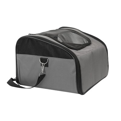 Laika Sidekick Travel Soft Sided Pet Carrier Color: Grey