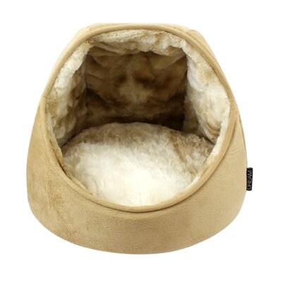 Dream Mink Hut Hooded with Soft Foam Color: Camel