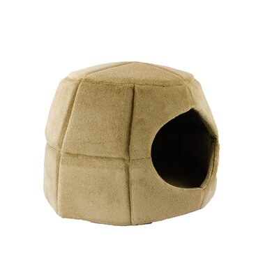 2 in 1 Honeycomb Hut Cuddler Hooded Color: Camel