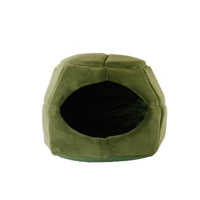 2 in 1 Honeycomb Hut Cuddler Hooded Color: Sage