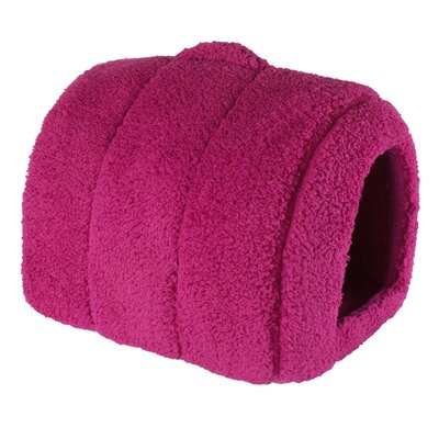 Lanza Dog and Cat Hooded/Dome Color: Pink