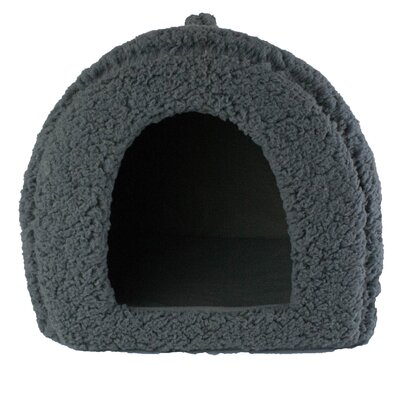 Dog and Cat Hooded/Dome Color: Gray