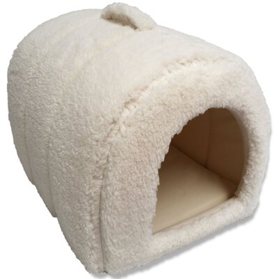 Lanza Dog and Cat Hooded/Dome Color: Ivory