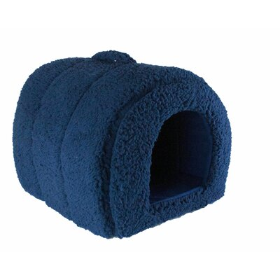 Lanza Dog and Cat Hooded/Dome Color: Navy