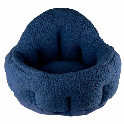 Deep Dish Cuddler Bolster Color: Blue