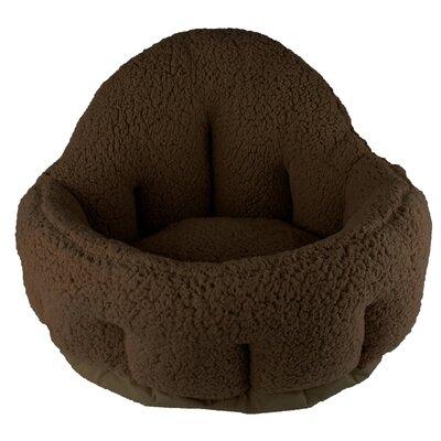 Kutcher Cuddler Bolster Color: Brown