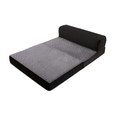 Dog Pad Color: Gray, Size: 9 H x  28 W x 42 D
