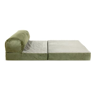 Laskey Dog Pad Size: 6 H x 20 W x 28 D, Color: Sage
