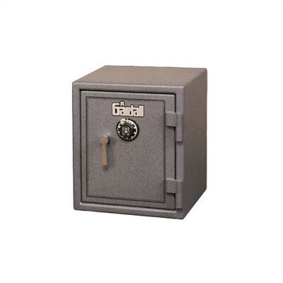 Burglar and Fire Resistant Safe 1.6 CuFt Lock Type: Group II Key-Op Lock, Color: Maroon With Silver Product Picture 1675
