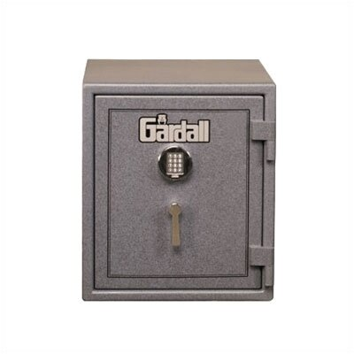 Medium Burglar and Fire Resistant Safe Lock: Group II Key-Op Lock, Finish: Hunter Green With Silver 9140 Product Photo
