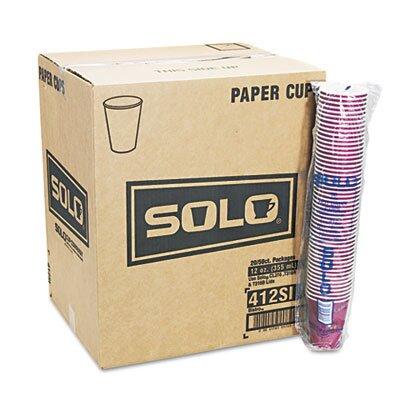 Company Bistro Design Hot Drink Cups, 12 Oz., 50/Pack (Set of 2) SCC412SINPK