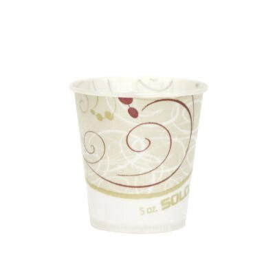 5 oz Waxed Paper Water Cups SCCR53SYMCT