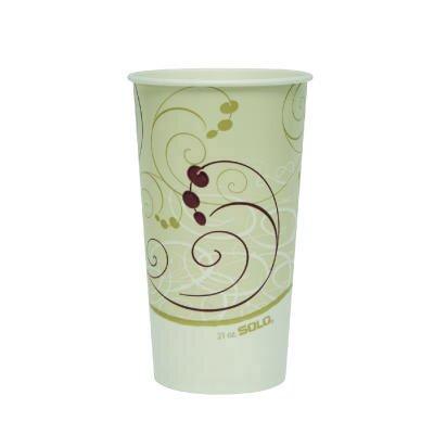 21 oz Paper Cold Cups SCCRSP21PSYM