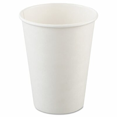 Polycoated 12 oz. Hot Paper Cups SCC412WN